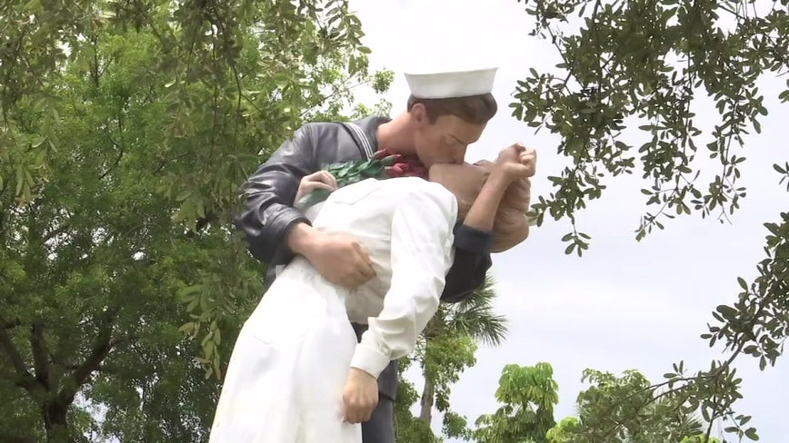 Iconic Sarasota statue to be moved to make way for traffic roundabout