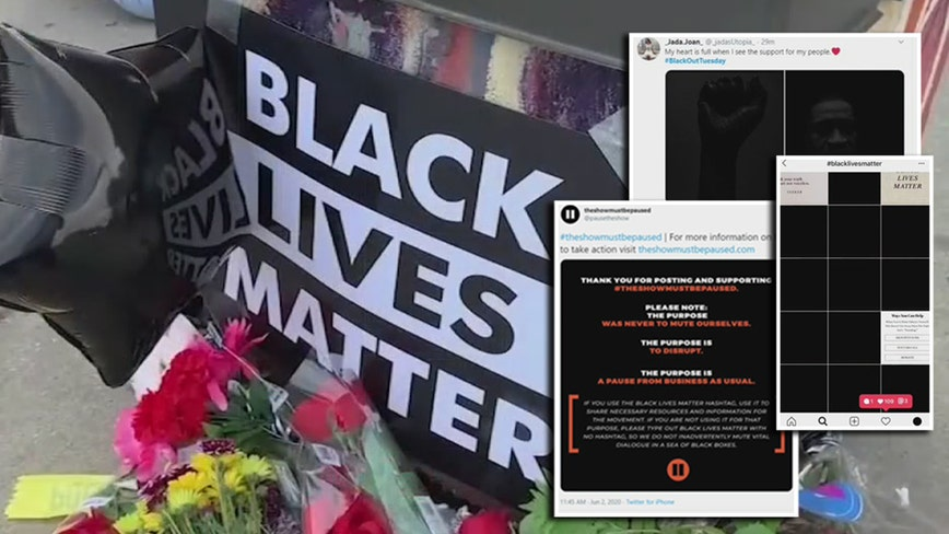Activists encourage real-world action after social media's #BlackoutTuesday