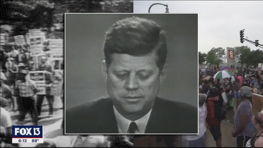 The rights of every man: Timeless lessons in Kennedy speech on civil rights
