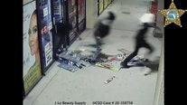 J-Lo Beauty Supply looters