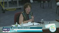 Sarasota school official makes emotional plea for safety