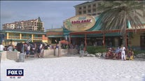 Clearwater Beach businesses welcome holiday crowds