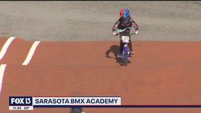 Even Olympians train at the Sarasota BMX Academy
