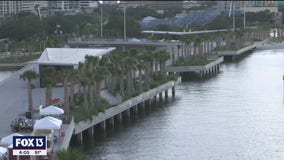 Small ceremony marks opening of St. Pete Pier