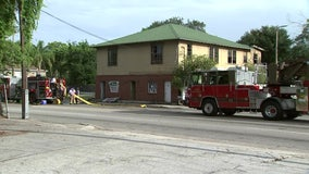 1 injured in East Tampa fire