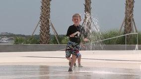 St. Petersburg Pier splash pad helps families beat the heat