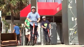 Scooters return to downtown Tampa after two-month absence during coronavirus pandemic