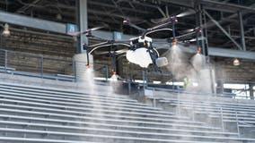 Texas stadiums to use disinfectant-spraying drones to fight coronavirus