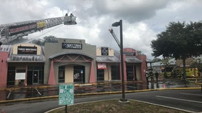 Gym, restaurant damaged in Odessa fire