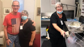 'Isolation can kill': Florida woman gets job washing dishes at nursing home to be close to husband
