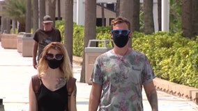 Miami Beach has issued $14,400 in fines to face mask violators