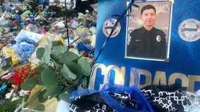 Memorial grows in honor of fallen Bothell officer