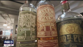 St. Petersburg Distillery keeps spirits high using Florida sugar, citrus
