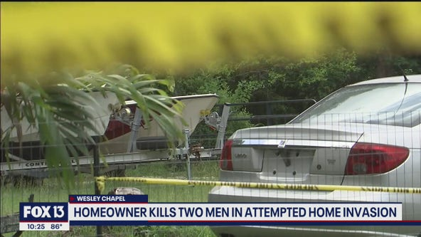 Homeowner shoots home invasion suspects, kills 2