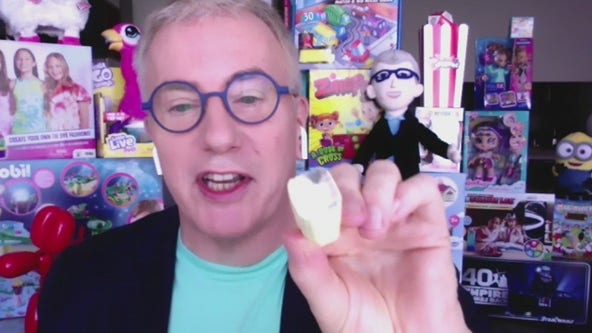 'The Toy Guy' offers help on keeping kids preoccupied