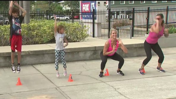 Kids can learn physical education from home