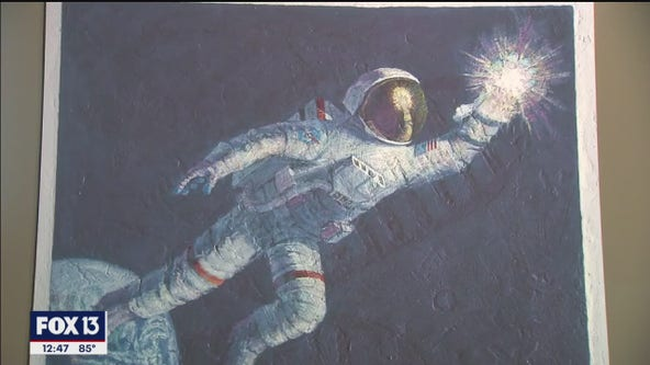 Visit outer space through art at MOSI