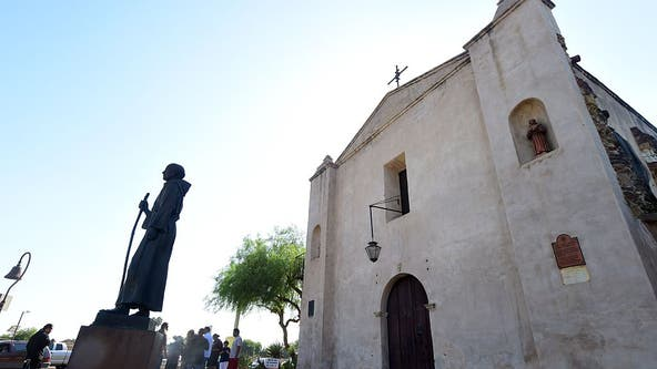 Fire destroys roof of 249-year-old San Gabriel Mission