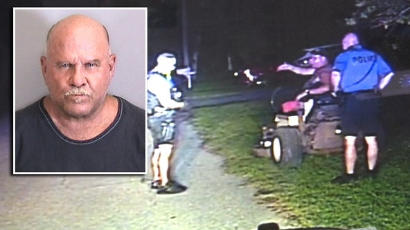Man arrested for DUI while driving lawnmower in Holmes Beach