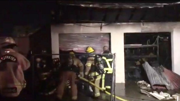 18 storage units in Clearwater facility destroyed from fire