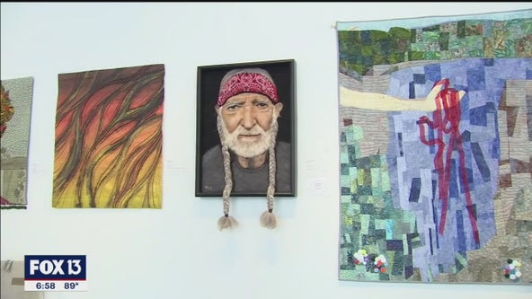 Exhibit showcases fiber, Florida artistry