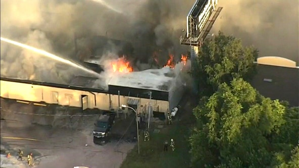 Large fire damages Pasco County gentleman's club