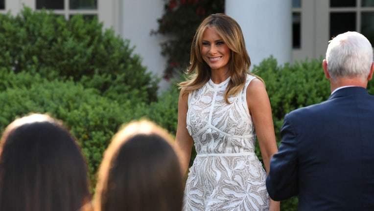First Lady Melania Trump Announces Plan To Revamp White House Rose Garden With Renewal Project