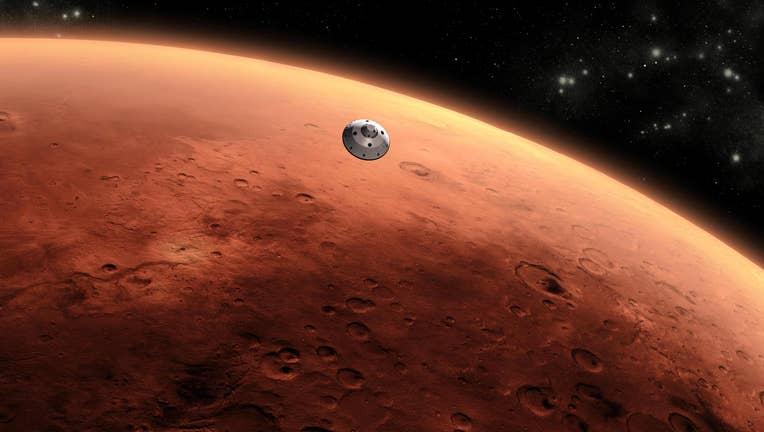 Mars illustration