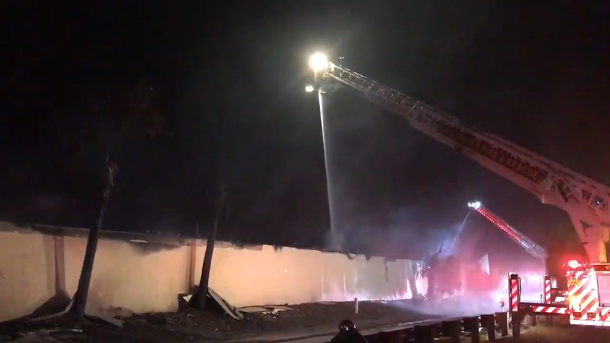 Evacuations ordered near 3-alarm fire in Clearwater