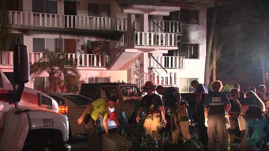 Man dies in fire at Seminole senior living complex