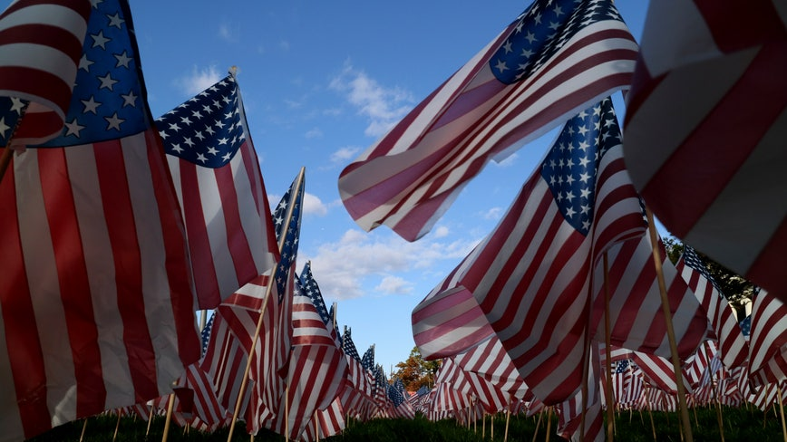 Thief who stole American flags dedicated to military heroes returns them to church: 'I'm sorry'