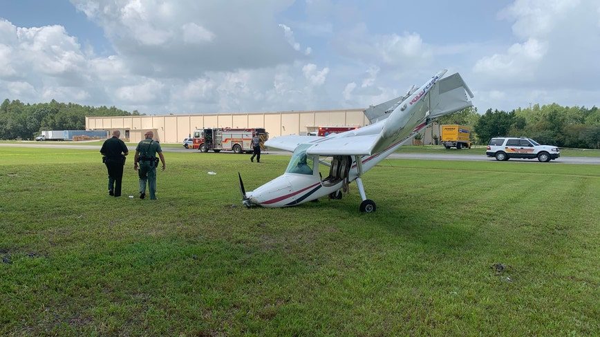 1 hospitalized, 1 being evaluated after Pasco County plane crash