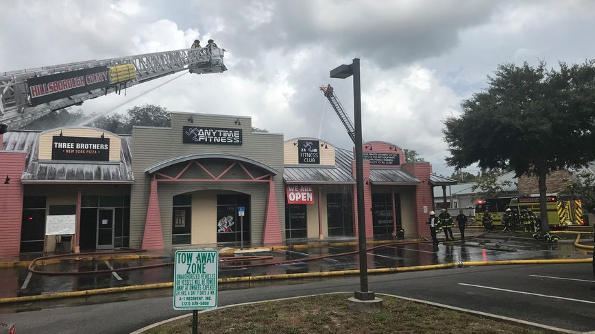 Gym, restaurant damaged in overnight fire in Odessa