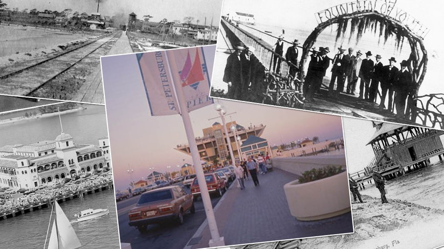 Photo gallery: St. Pete's piers through the years