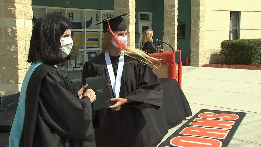 Plenty of pride as Hillsborough begins modified graduations