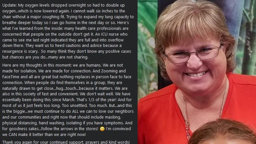Sarasota school principal documents 'scary' 9-day COVID-19 hospitalization on social media