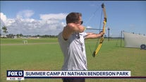 Summer camp continues at Nathan Benderson Park