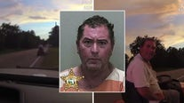 Body camera footage shows DUI arrest of Florida man on lawnmower
