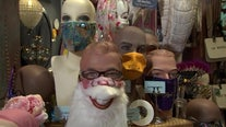 St. Petersburg fundraiser helps struggling artists, highlights fashionable face-coverings