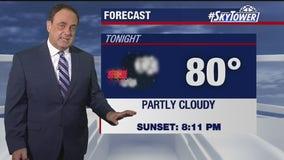 Wednesday evening weathercast