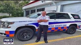 Manatee County EMS district chief reflects on 30-year career of mentorship, saving lives