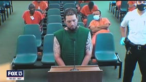 Shooting rampage suspect gets long list of charges