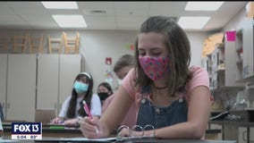 Pencils, notepads, masks, hand sanitizer fill backpacks in Manatee County on first day of school