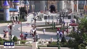 DeSantis backs added capacity at major theme parks