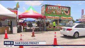 Fair food at the Fairgrounds