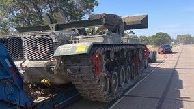 Troopers find tank abandoned along Nebraska interstate