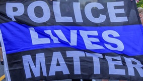 'They are needed:' Rally supporting police draws scores to downtown Kenosha