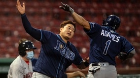 Rays hold on for 9-5 win against Red Sox