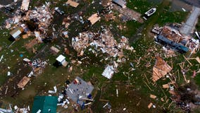'Glass falling everywhere': Video, images show damage in the aftermath of Hurricane Laura