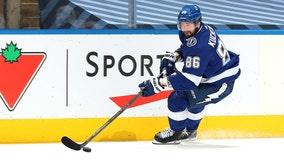 Kucherov, Lightning beat Capitals in round-robin shootout